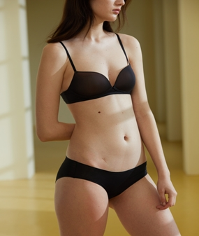 PURE TOUCH - BRA& PANTY SET